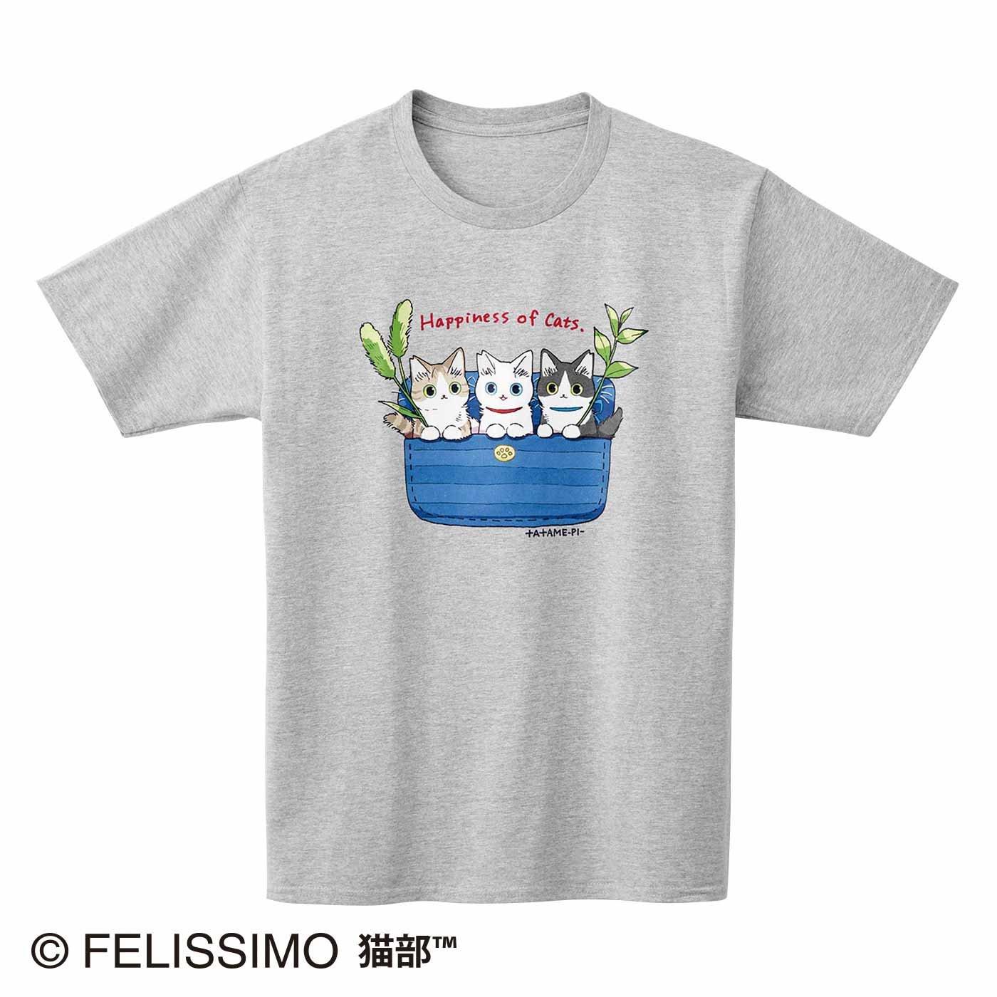 たたメーピー×猫部 地域猫チャリティーTシャツ2021