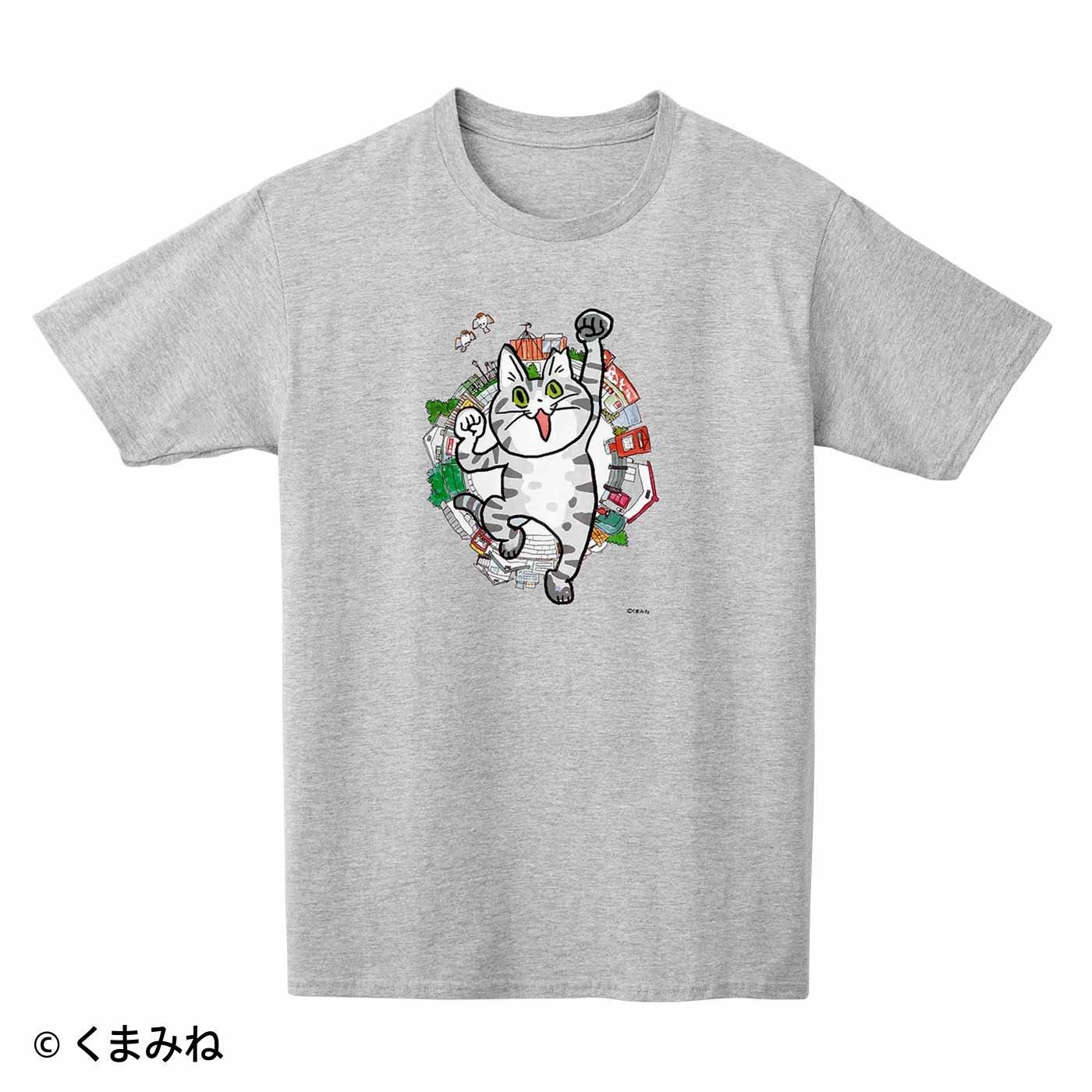 くまみね×猫部 地域猫チャリティーTシャツ2021
