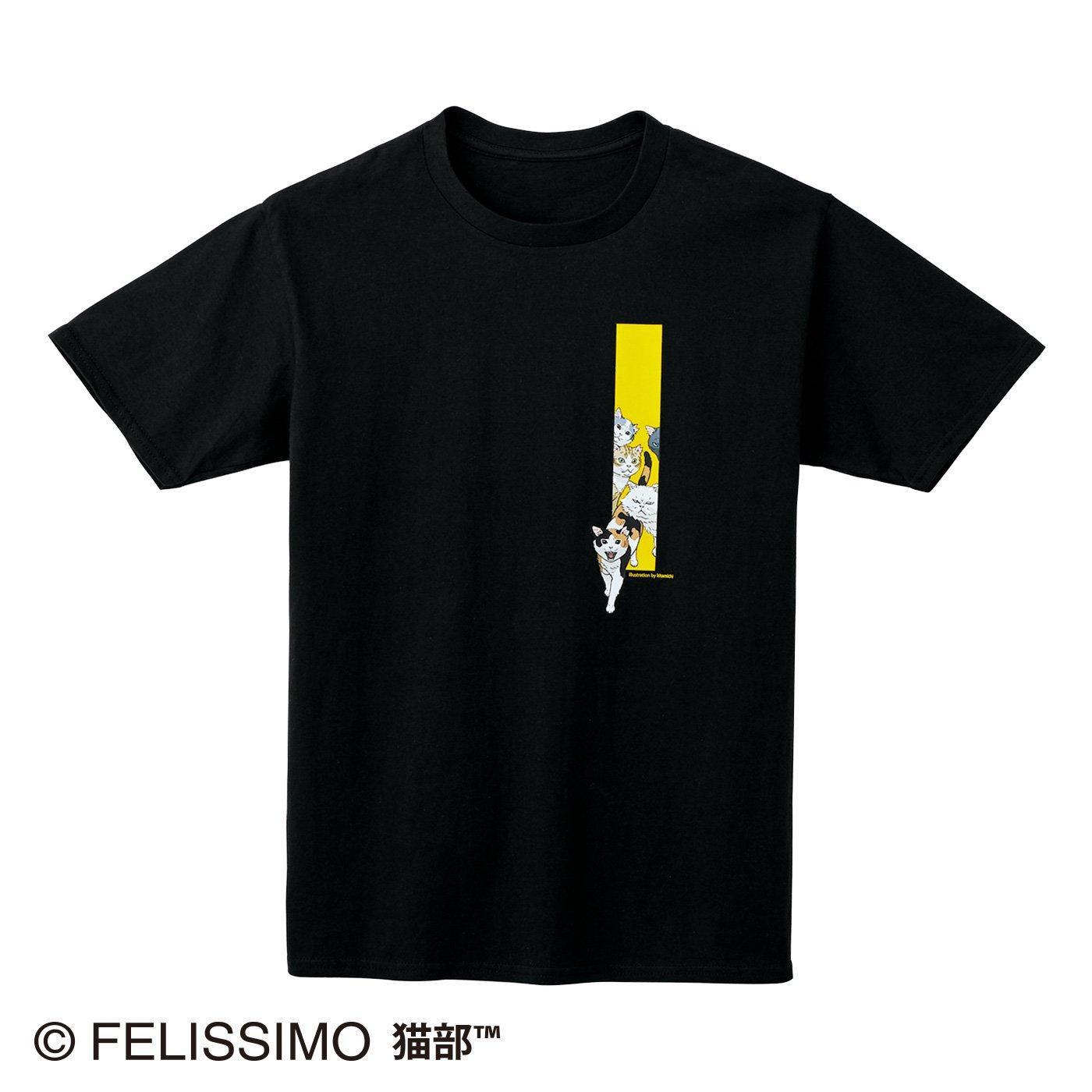 北道正幸×猫部 地域猫チャリティーTシャツ2021