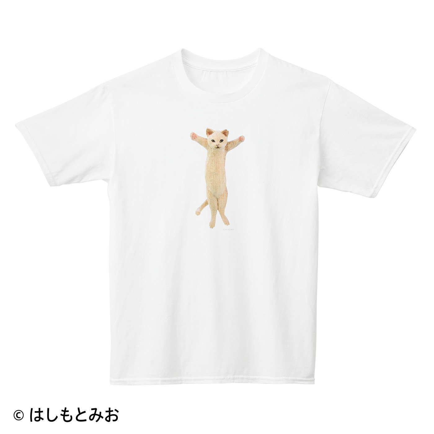 はしもとみお×猫部 地域猫チャリティーTシャツ2021