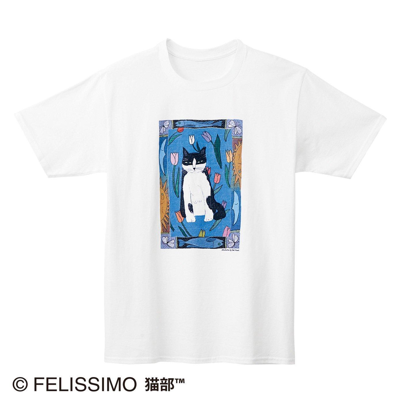 土肥薫季×猫部 地域猫チャリティーTシャツ2021
