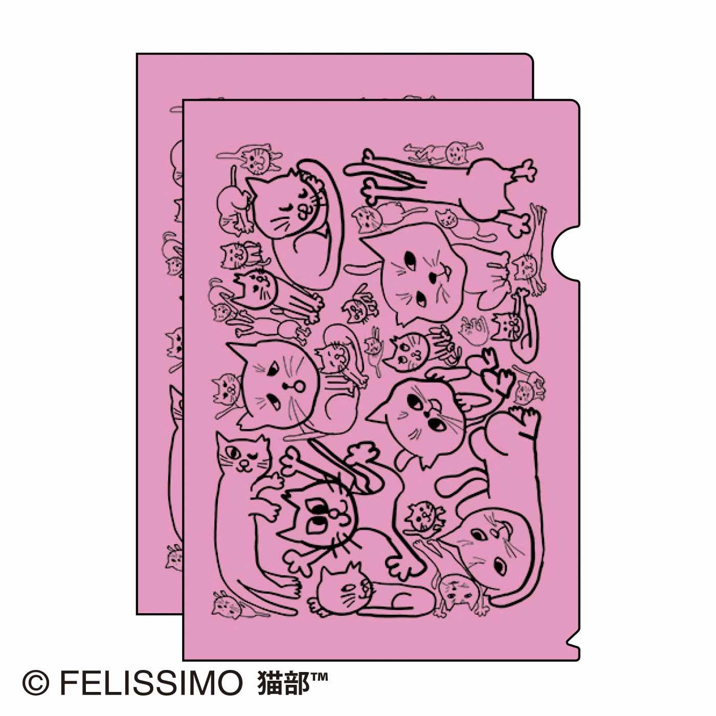 日本エレキテル連合×猫部 地域猫チャリティークリアファイル2021
