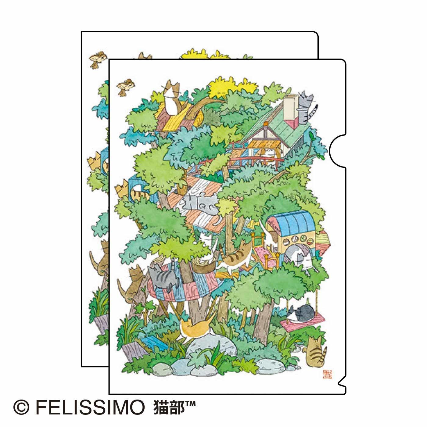 久保智昭×猫部 地域猫チャリティークリアファイル2021