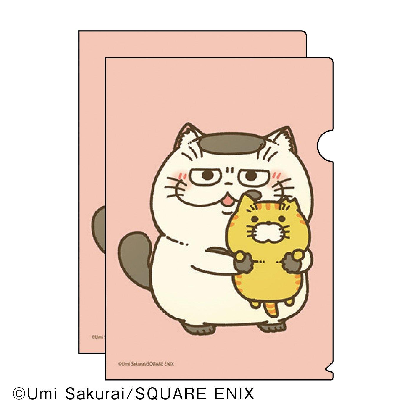 桜井海×猫部 地域猫チャリティークリアファイル2021
