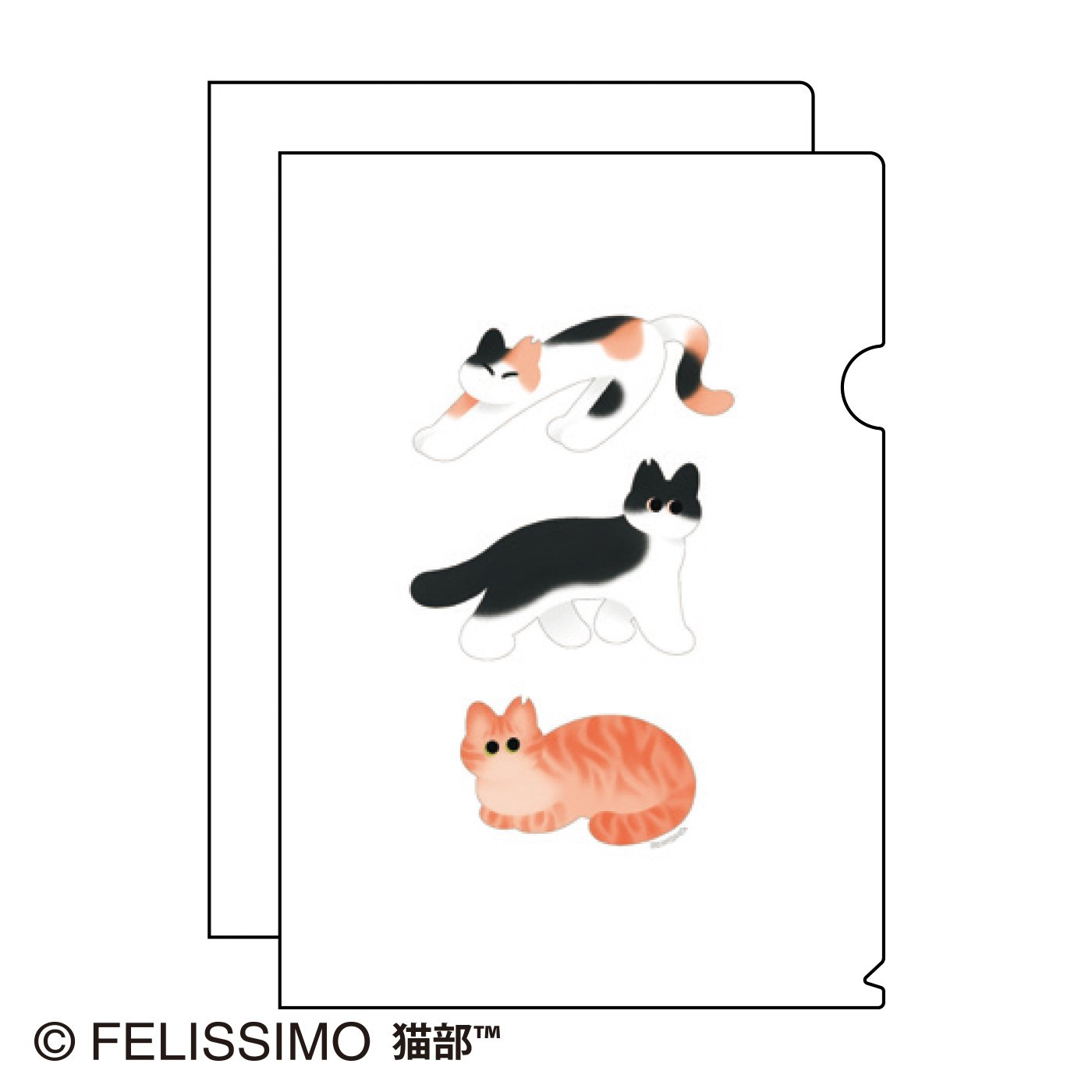 nanana×猫部 地域猫チャリティークリアファイル2021