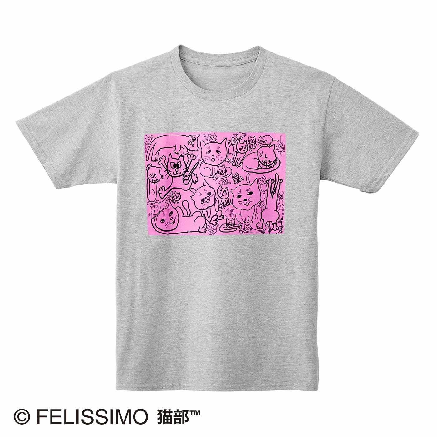 日本エレキテル連合×猫部 地域猫チャリティーTシャツ2021