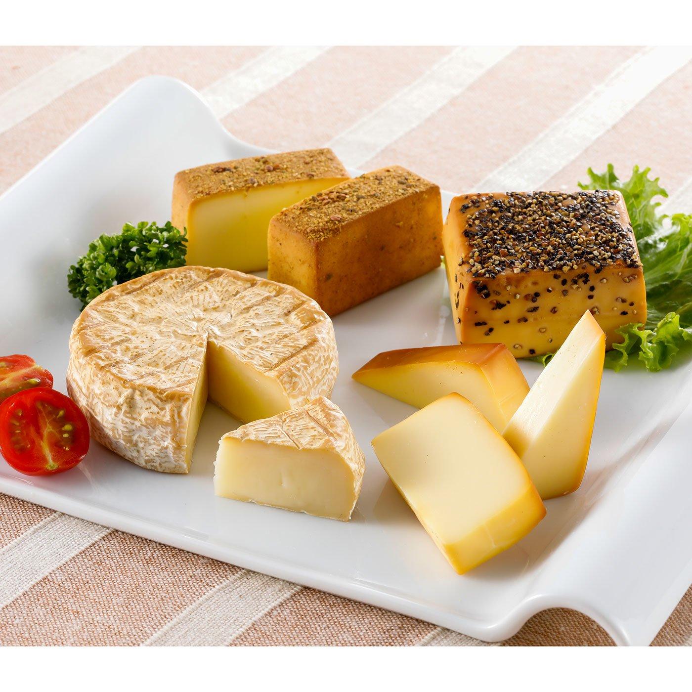お酒と一緒に楽しむ4種の燻製チーズ詰め合わせ