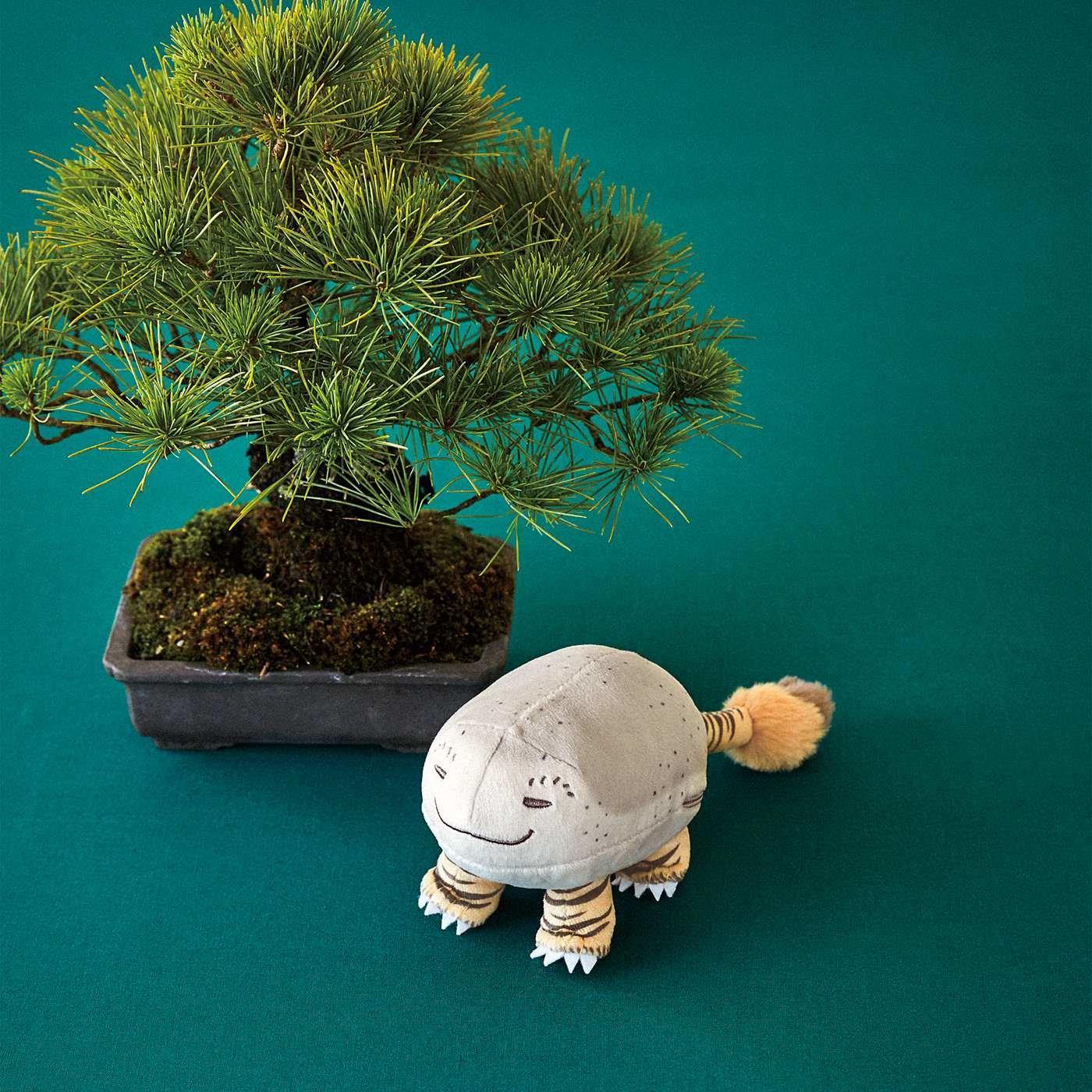 太田記念美術館×フェリシモミュージアム部 絵師のユーモアが生んだ珍獣 虎子石(とらこいし)もっちりポーチ