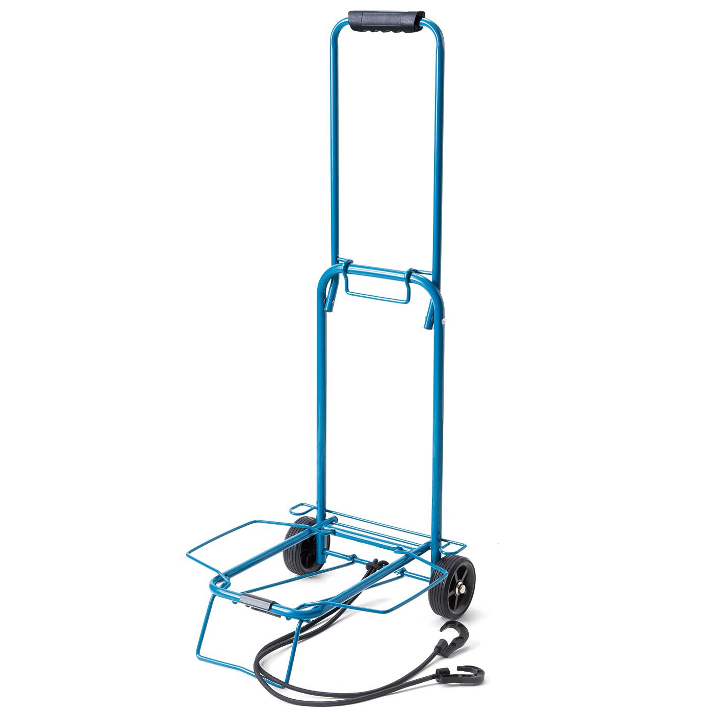 重たい荷物をらくらく移動! コンパクトに持ち運べる キャリーカート