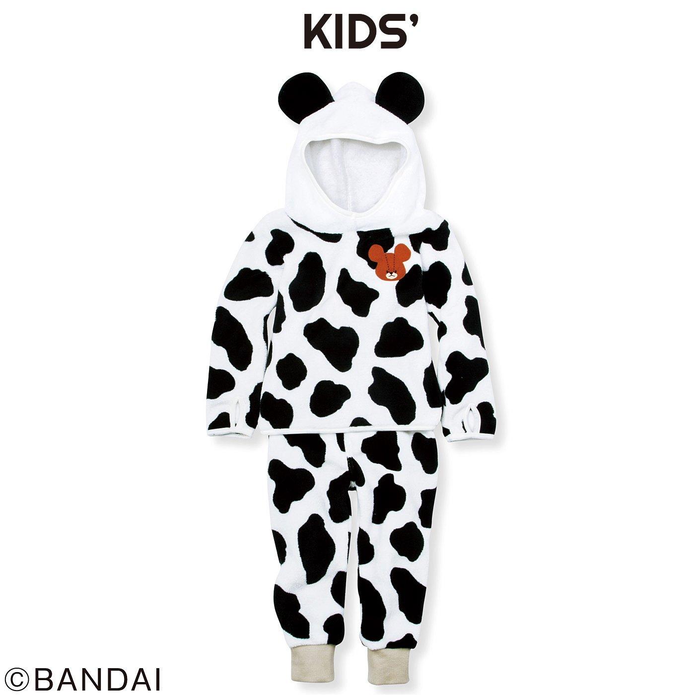 くまのがっこう ミルクちゃんの着ぐるみフリースルームウェア〈キッズ〉
