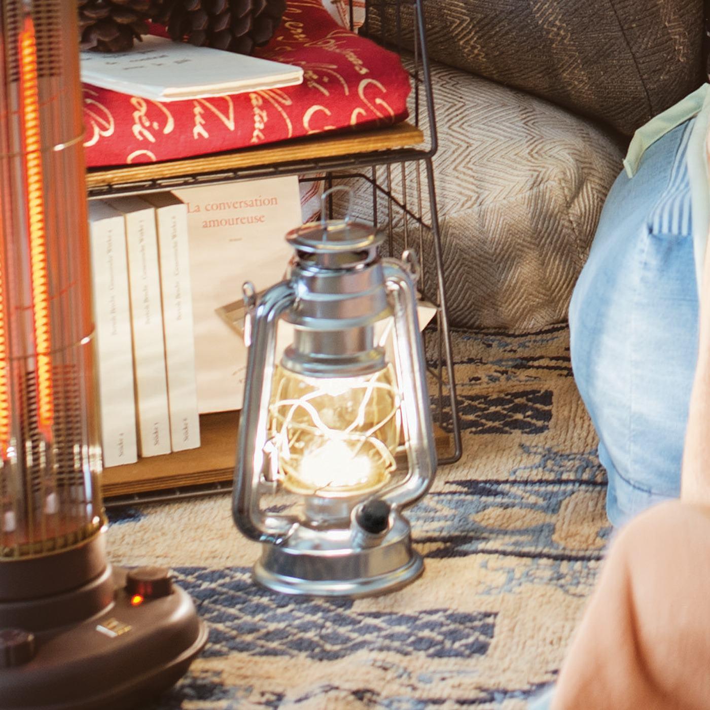 お部屋の中に暖かな灯りをポッとともせば、まるでおうちグランピング!
