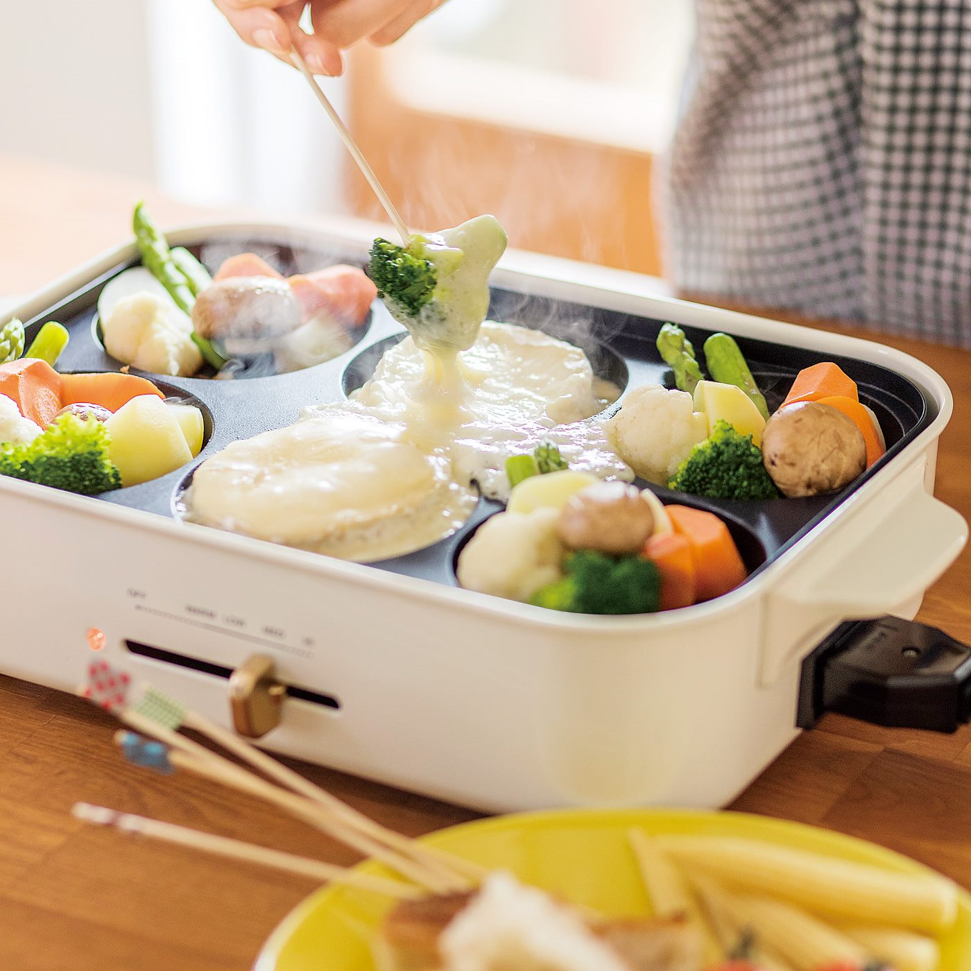 お料理のアイデア広がる別売りオプションプレート