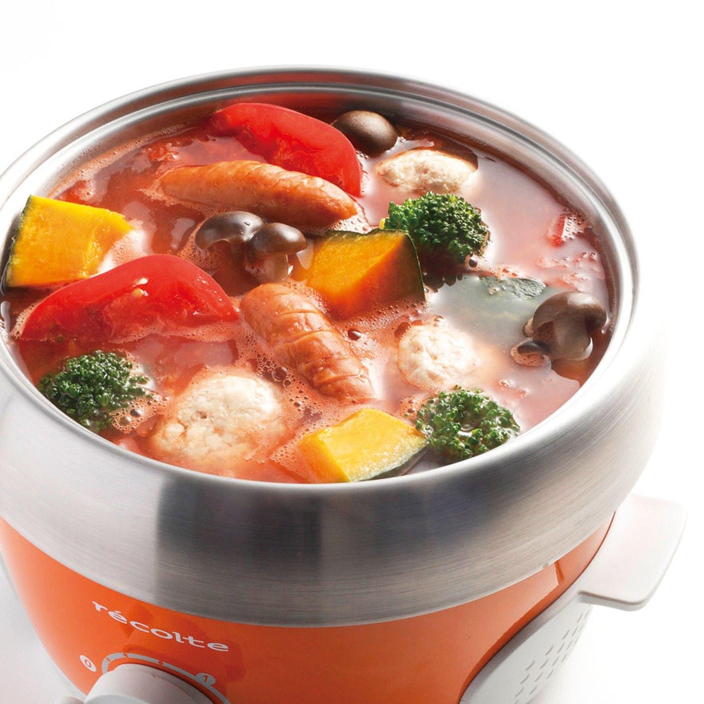 ポトフやひとり用のキムチ鍋、鍋焼きうどんなどに。 ※お届けするカラーとは異なります。