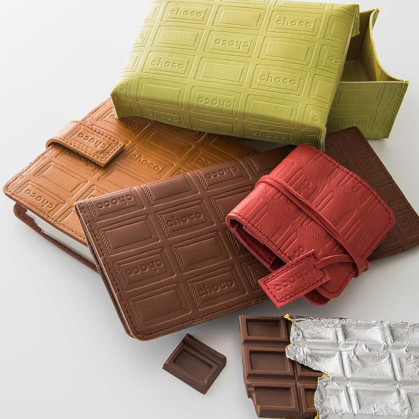 日本職人の本革仕立て チョコレートバイヤーのお仕事7つ道具