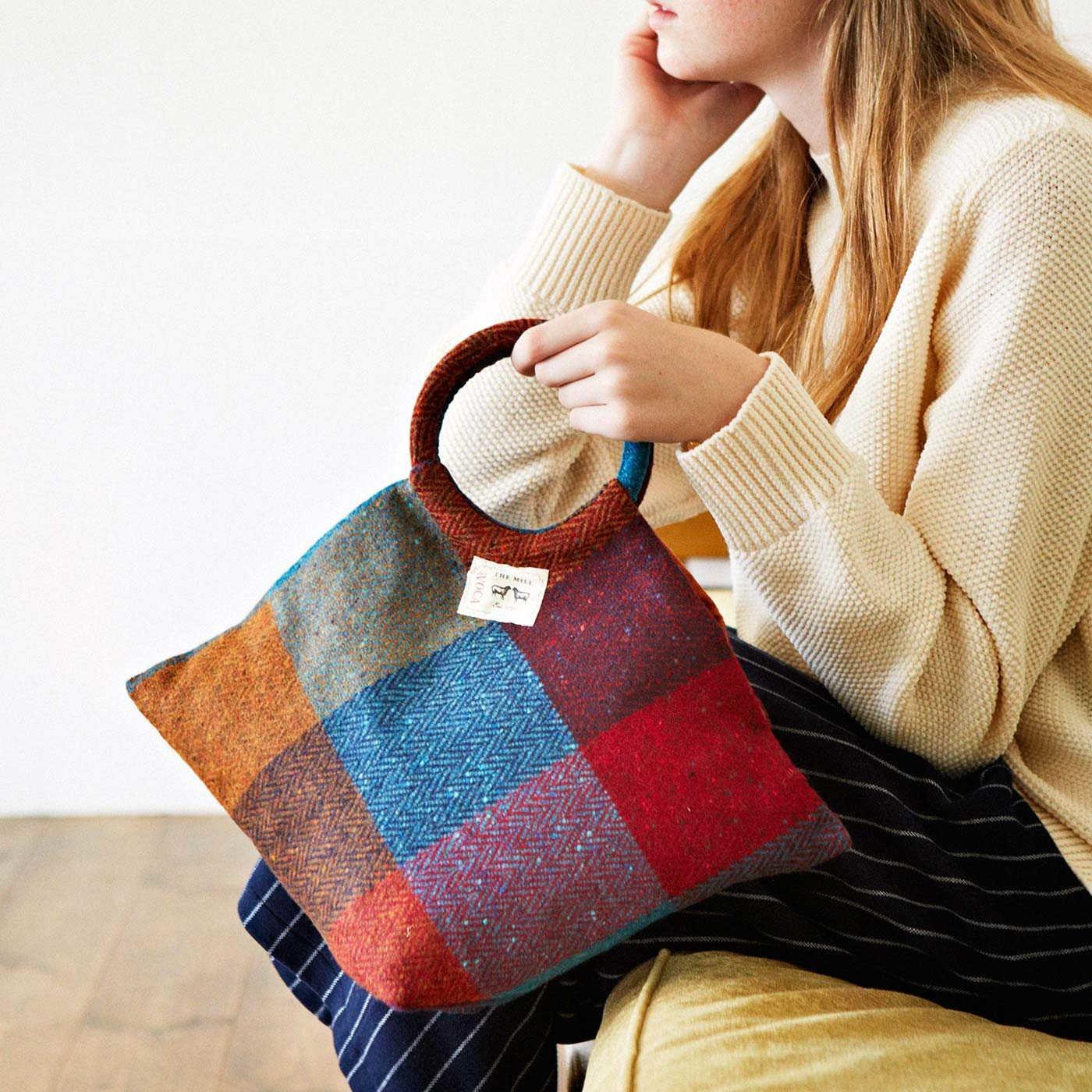 Couturier×AVOCA 鮮やか色のウールクロスで贅沢に仕立てるバッグ&ポーチ