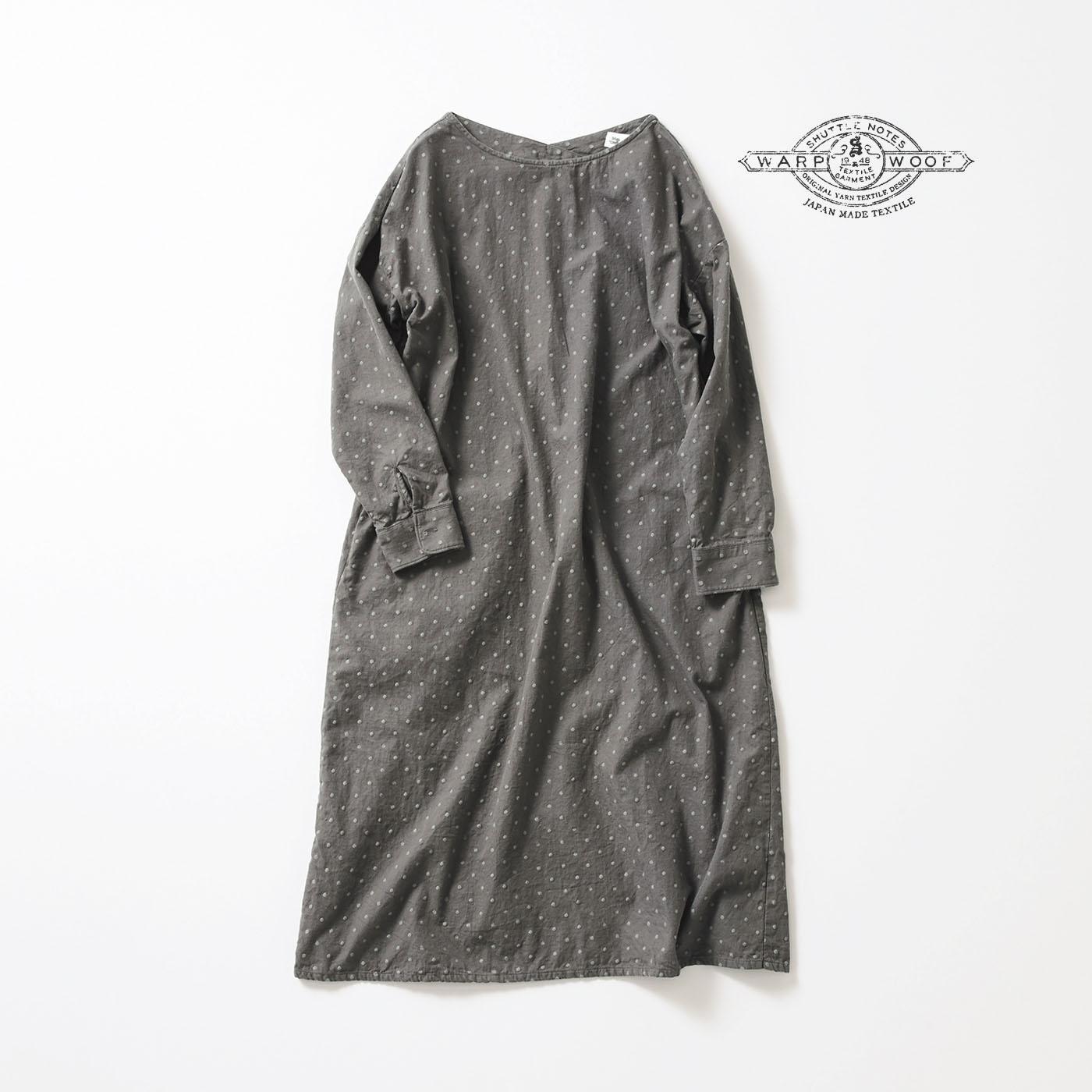 サニークラウズ feat. Shuttle Notes 水玉雪玉ワンピース〈レディース〉