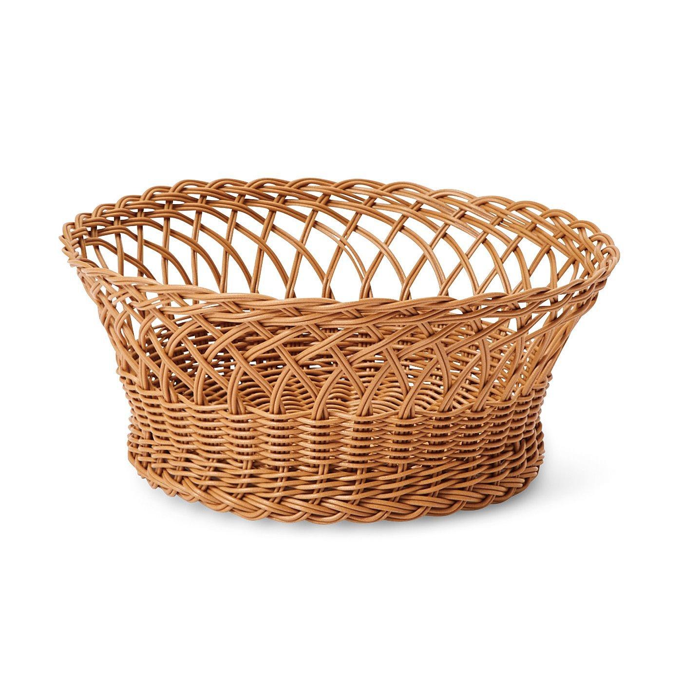 am&be 洗えてしなやか あこがれのラタン風手編みバスケットの会