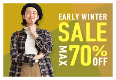 EARLY WINTER SALE MAX70%OFF