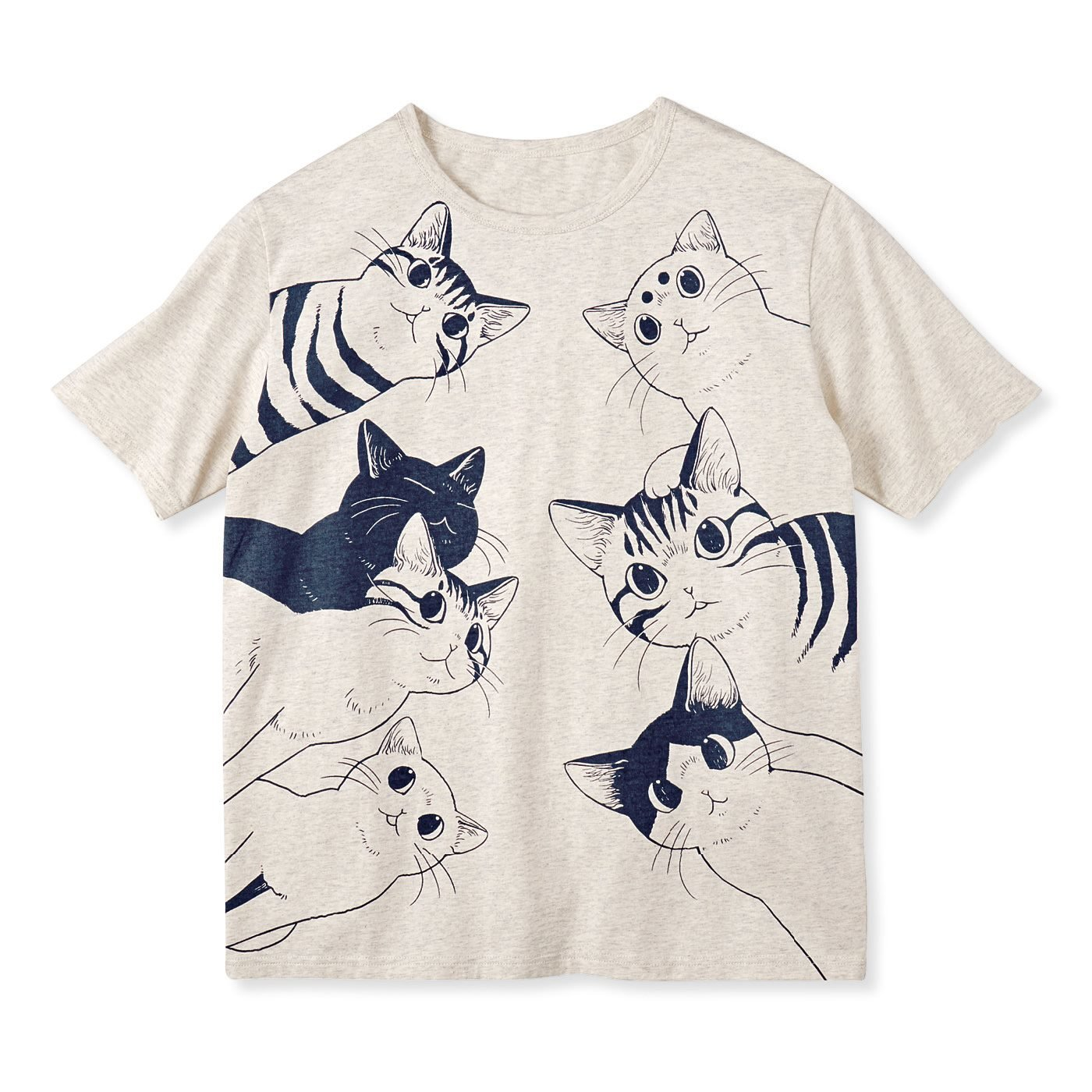 漫画家 山野りんりんさんとつくった 飛び出すようなインパクト 猫好き猛アピールTシャツの会