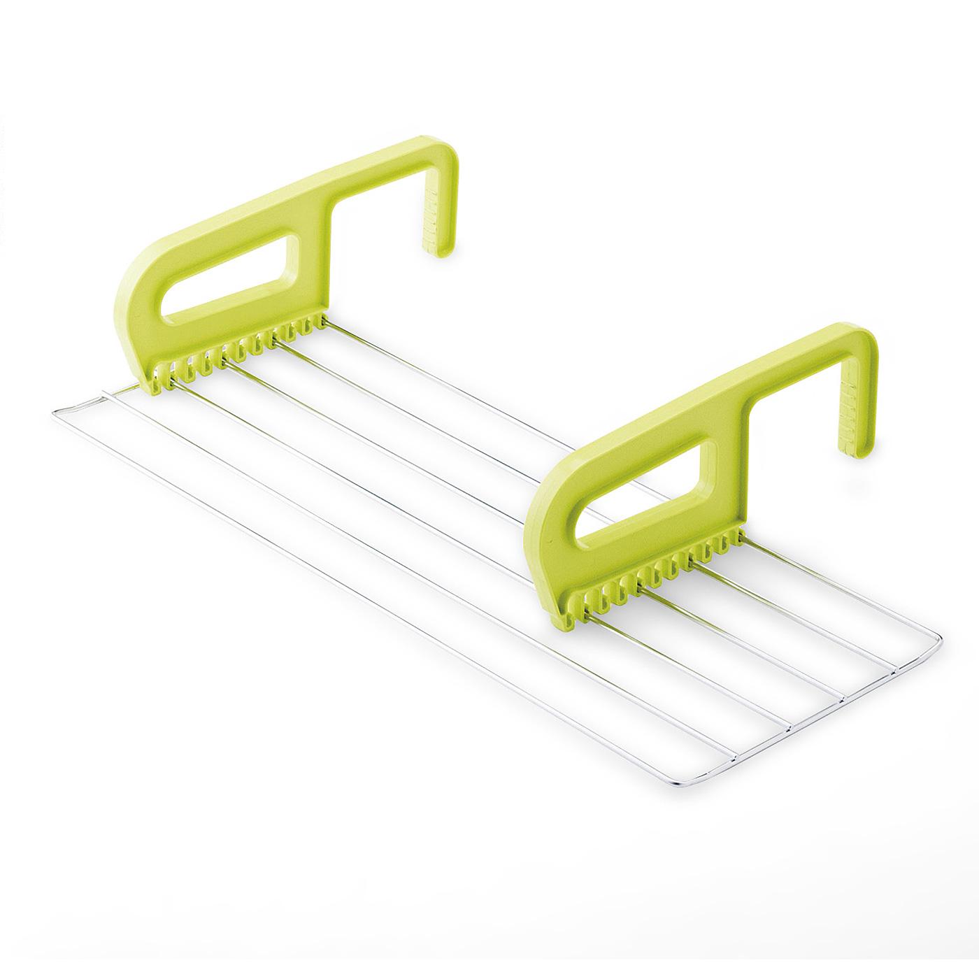 引っ掛け部の取り付け位置を変えると、横幅も自由に調整可能。