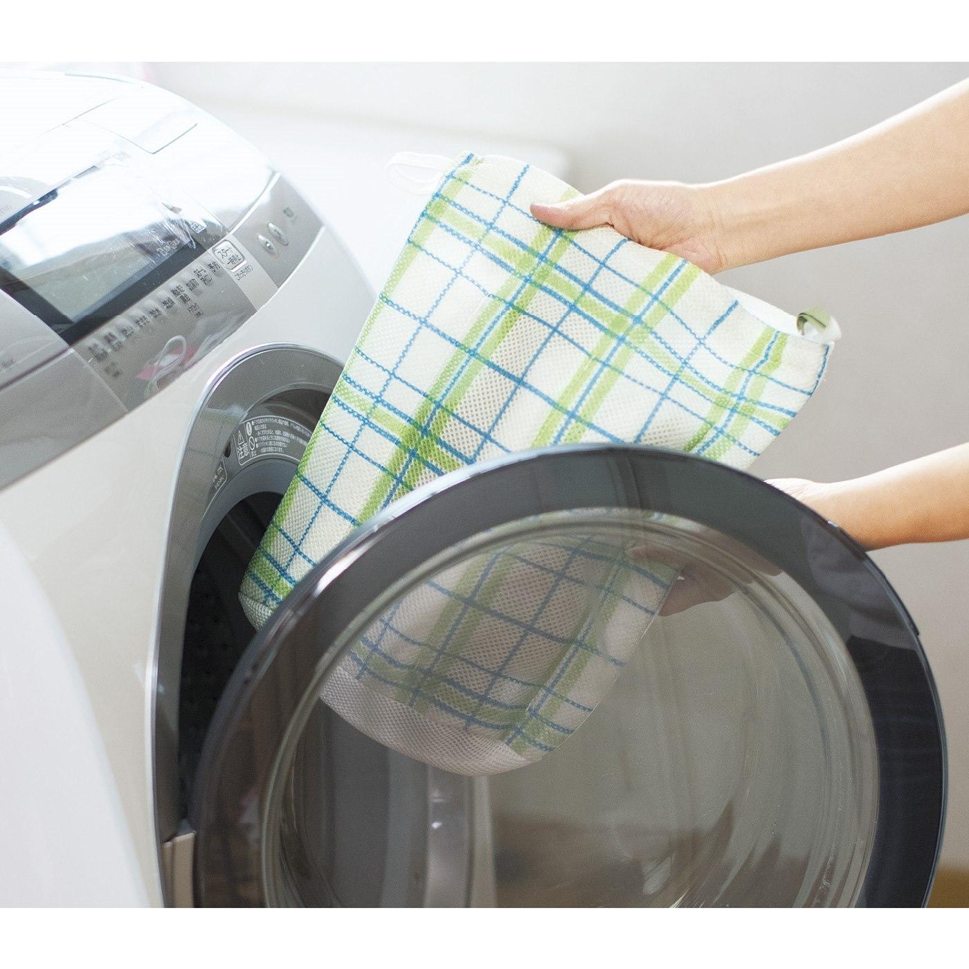 洗濯機にポン!