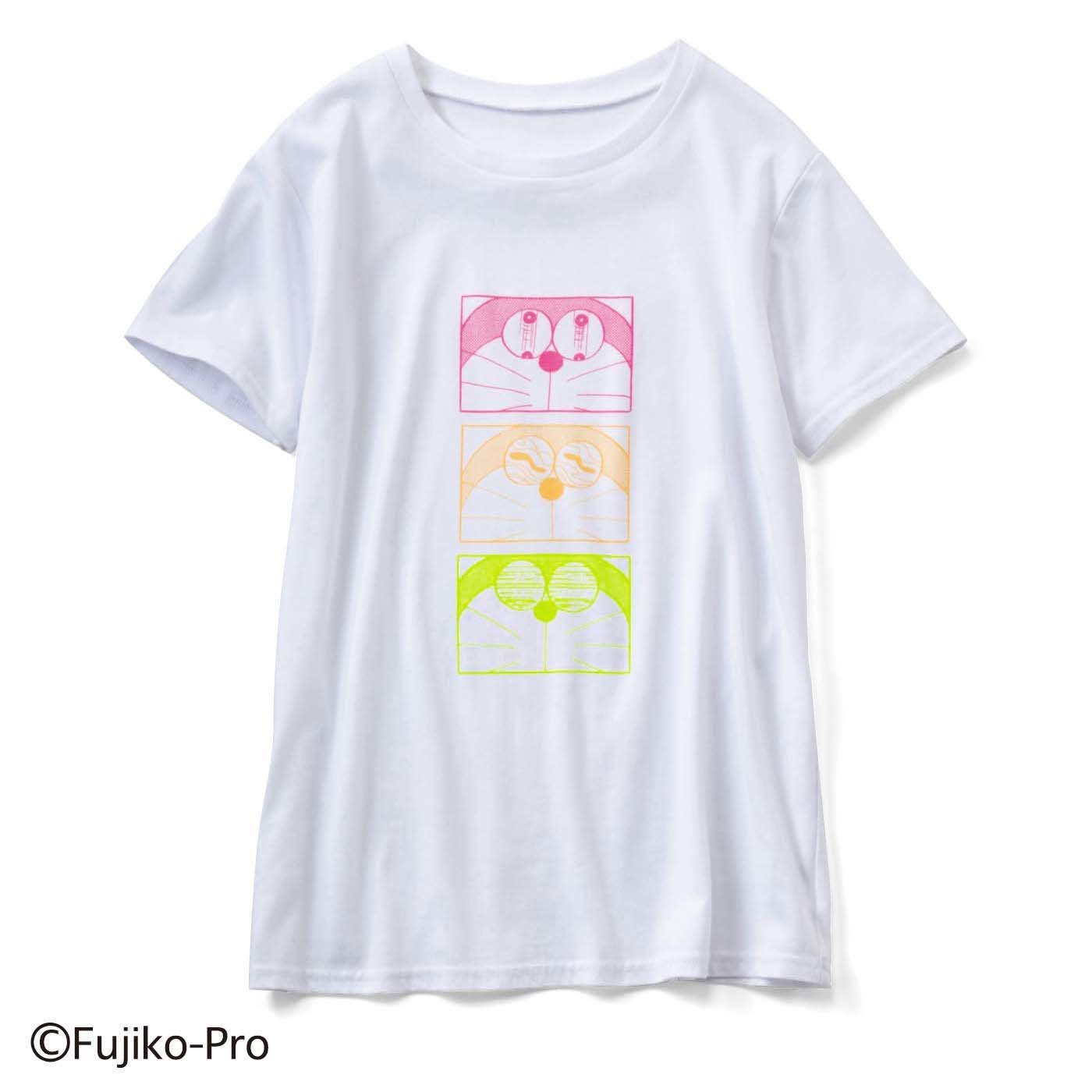 ドラえもん いろんな表情が楽しい プリントTシャツ