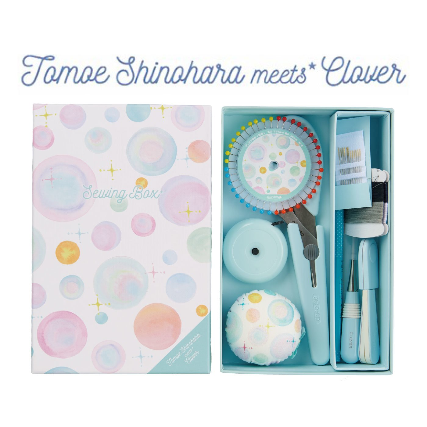 Cloverクロバー ◆限定品◆ソーイングボックス 「篠原ともえデザイン」