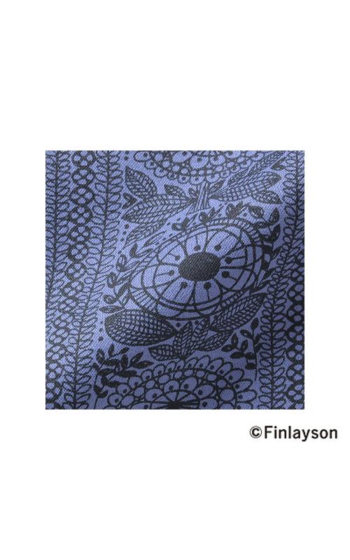 上品な風合いのストレッチ布はく素材。