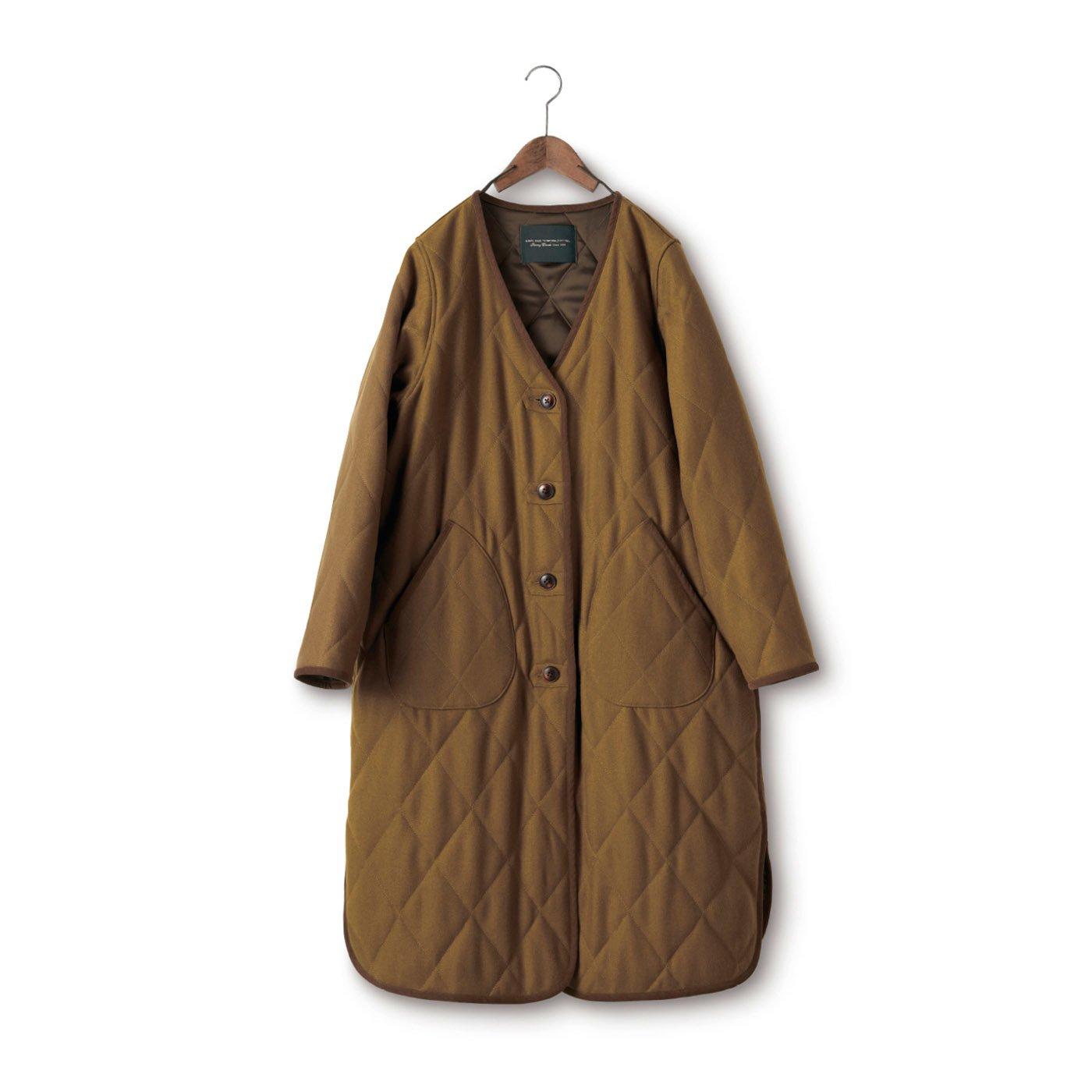 SUNNY CLOUDS ウールキルティングコート〈レディース〉