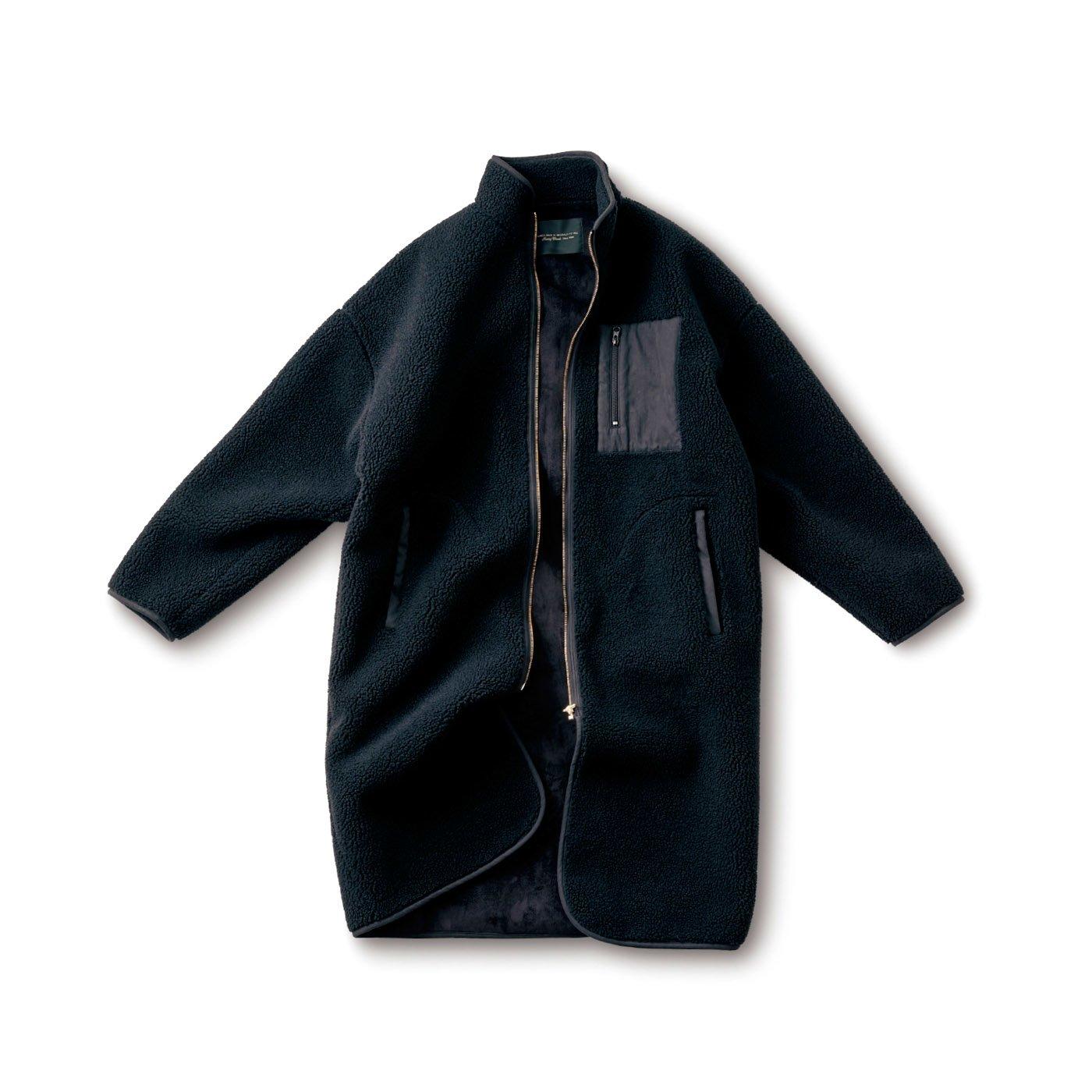 SUNNY CLOUDS 漆黒のボアコート〈メンズ〉