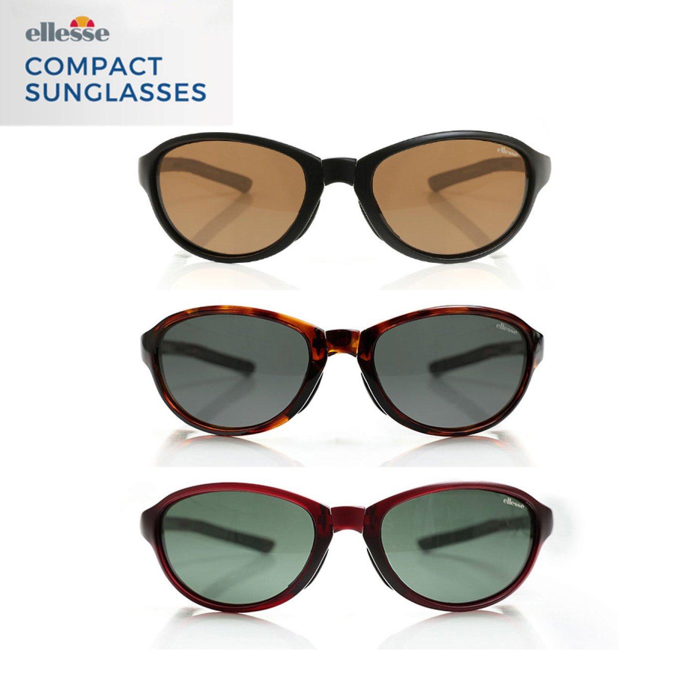 軽量&折りたたみOK エレッセ コンパクトサングラス