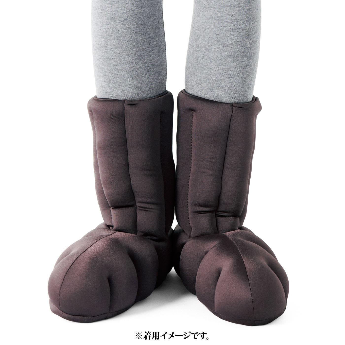 「履く断熱材! キープ温ルームシューズ」と一緒に使えば足冷え対策万全!