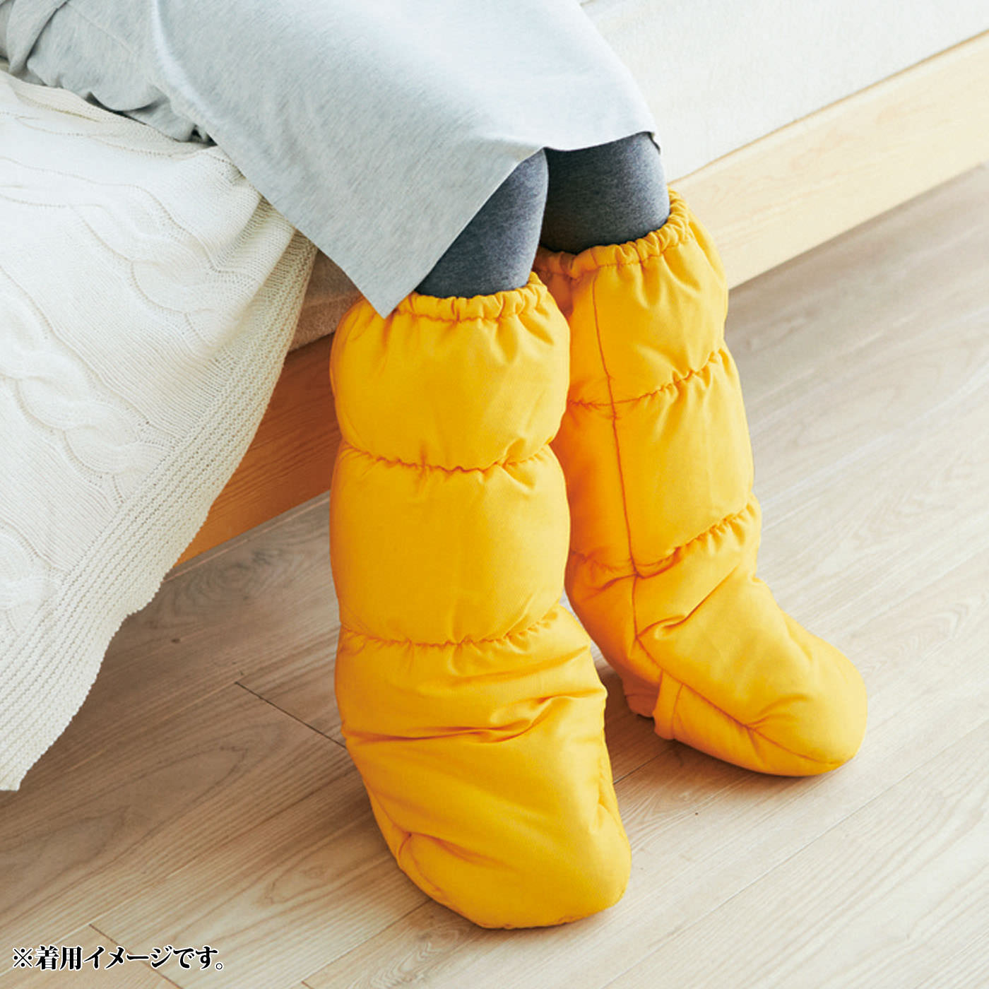 足先を冷えから守る、就寝時の定番に。