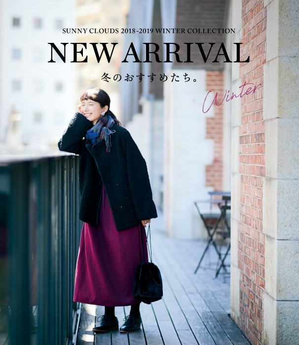 NEW ARRIVAL winter 2018-2019