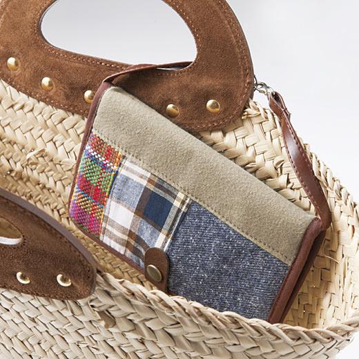 持ち手に掛けておけば、バッグの中で迷子になりません。