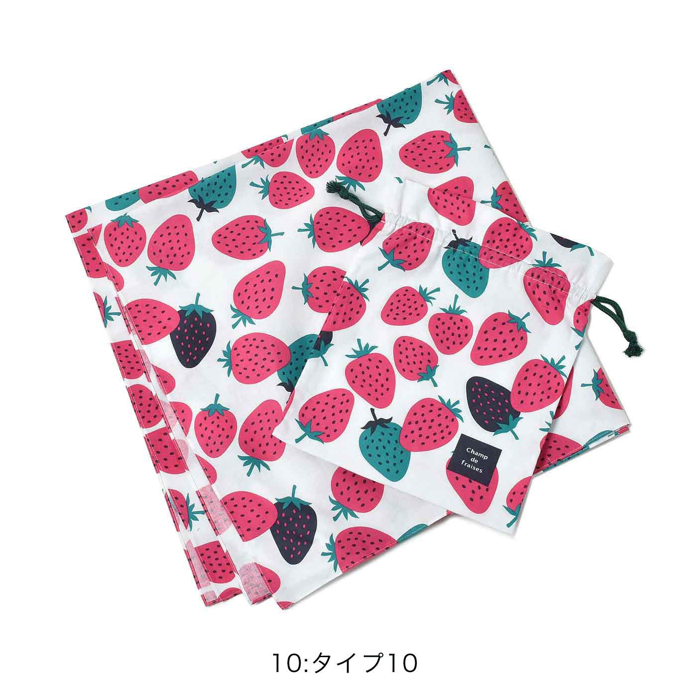●ふろしき&きんちゃくセット ■素材:綿100% ■サイズ:〈ふろしき〉約80×80cm 〈きんちゃく〉縦約28cm、横約23cm ■日本製