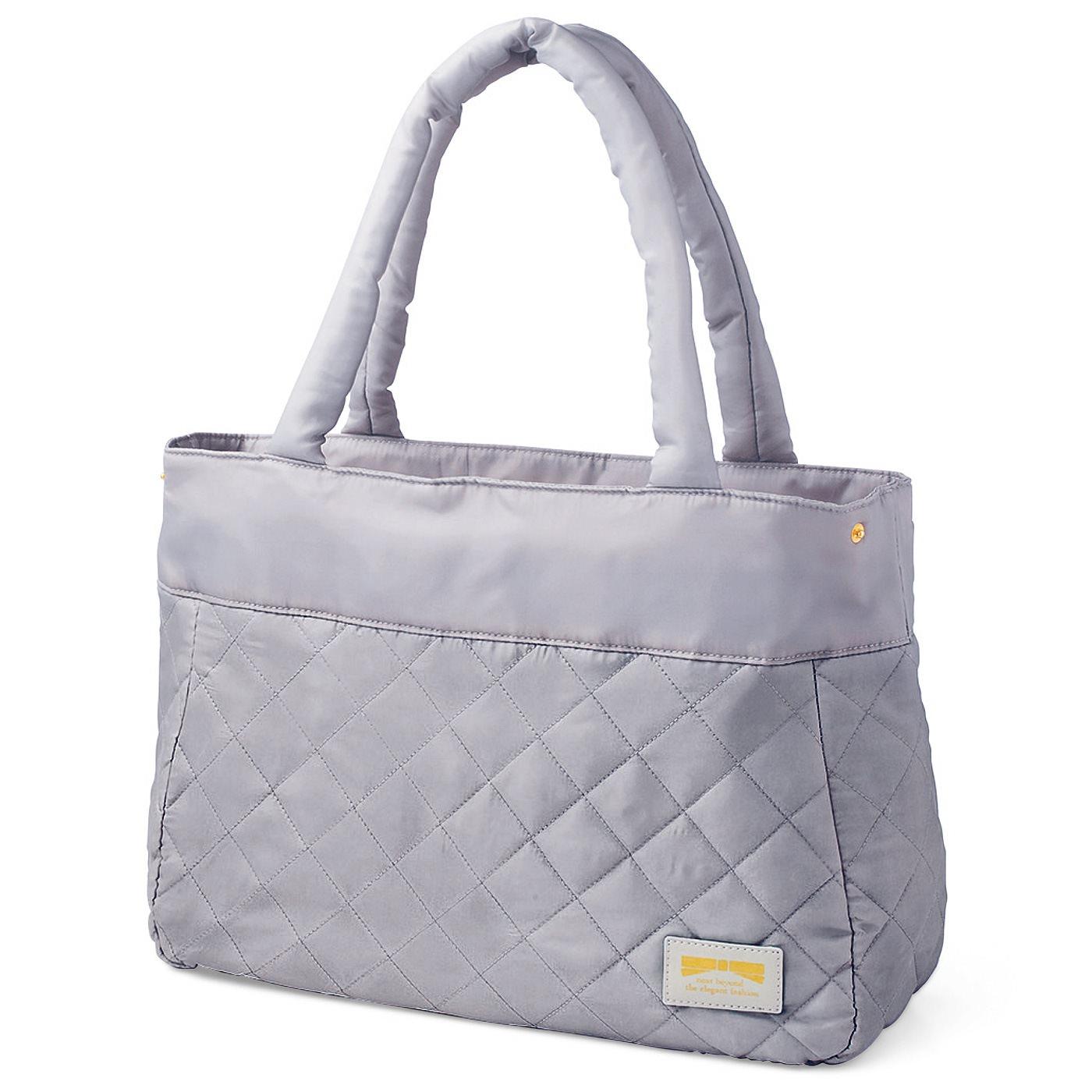 フェリシモ ふんわり軽やか ポケットいっぱいのたっぷり収納バッグ