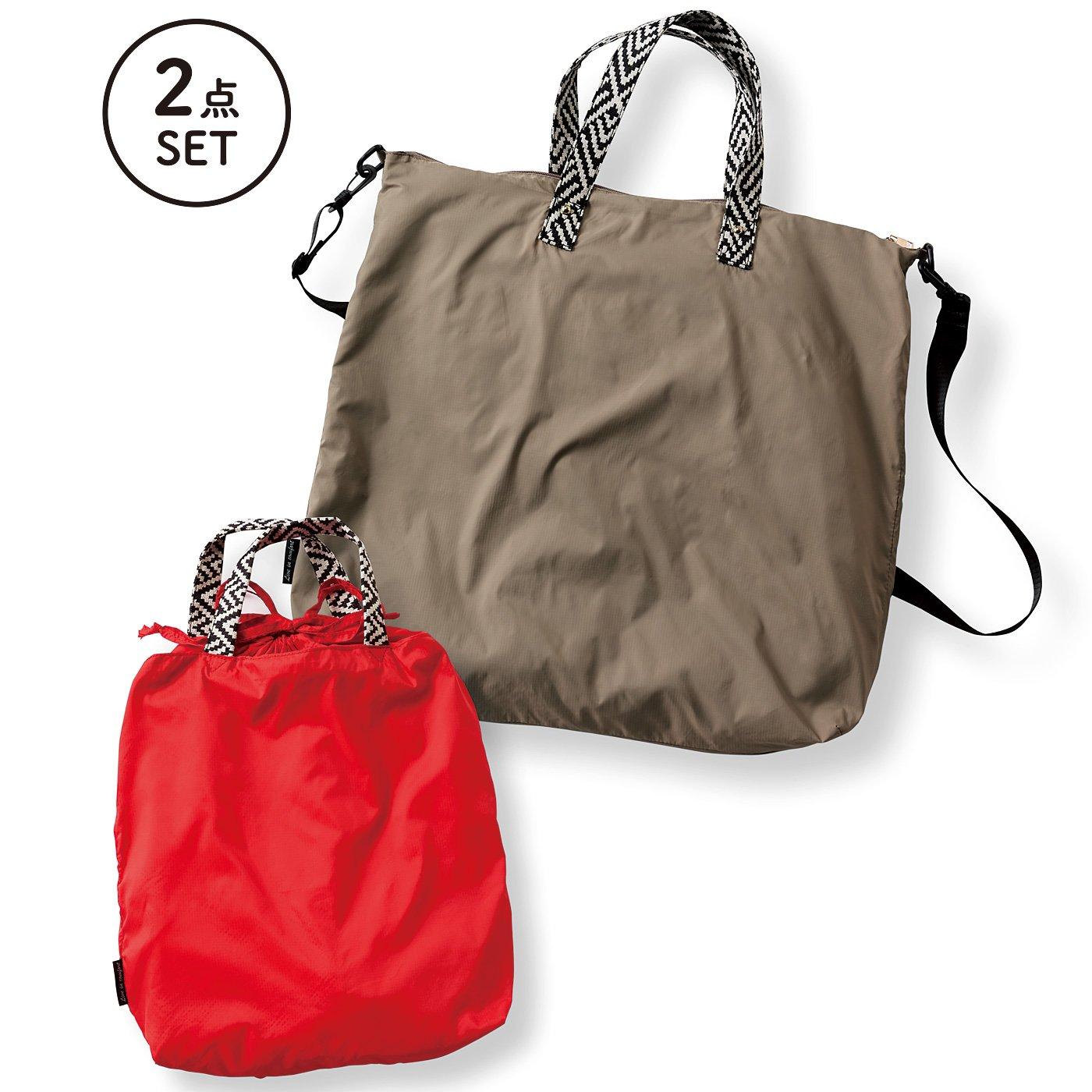 リブ イン コンフォート×魅惑のキャンプ たっぷり入って本当に使える! 薄くて軽い親子バッグセット