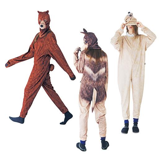 本当に動物がいるみたいなワッと驚くリアルプリントの着ぐるみ〈ボディー〉