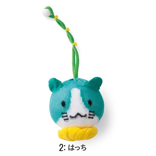 フェリシモ チャレンジド・クリエイティブ・プロジェクト トイレ掃除らくちん! まんまる猫ちゃんファミリー