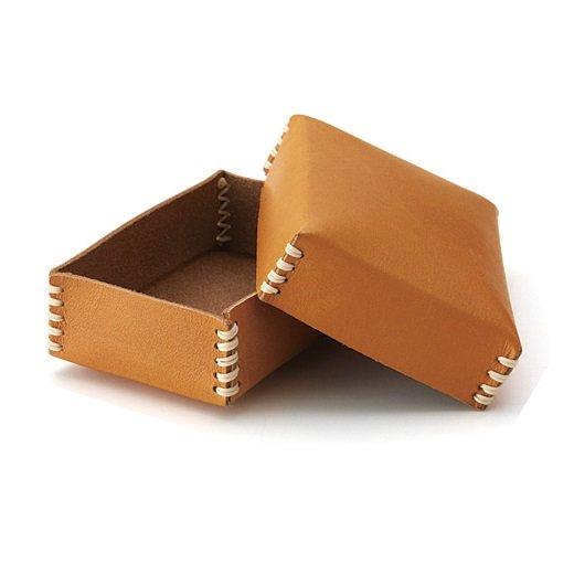 レザークラフトレッスン 職人とともにレザーハンドメイドに挑戦! 手のひらサイズの素敵革箱(手づくりエクストラキット)