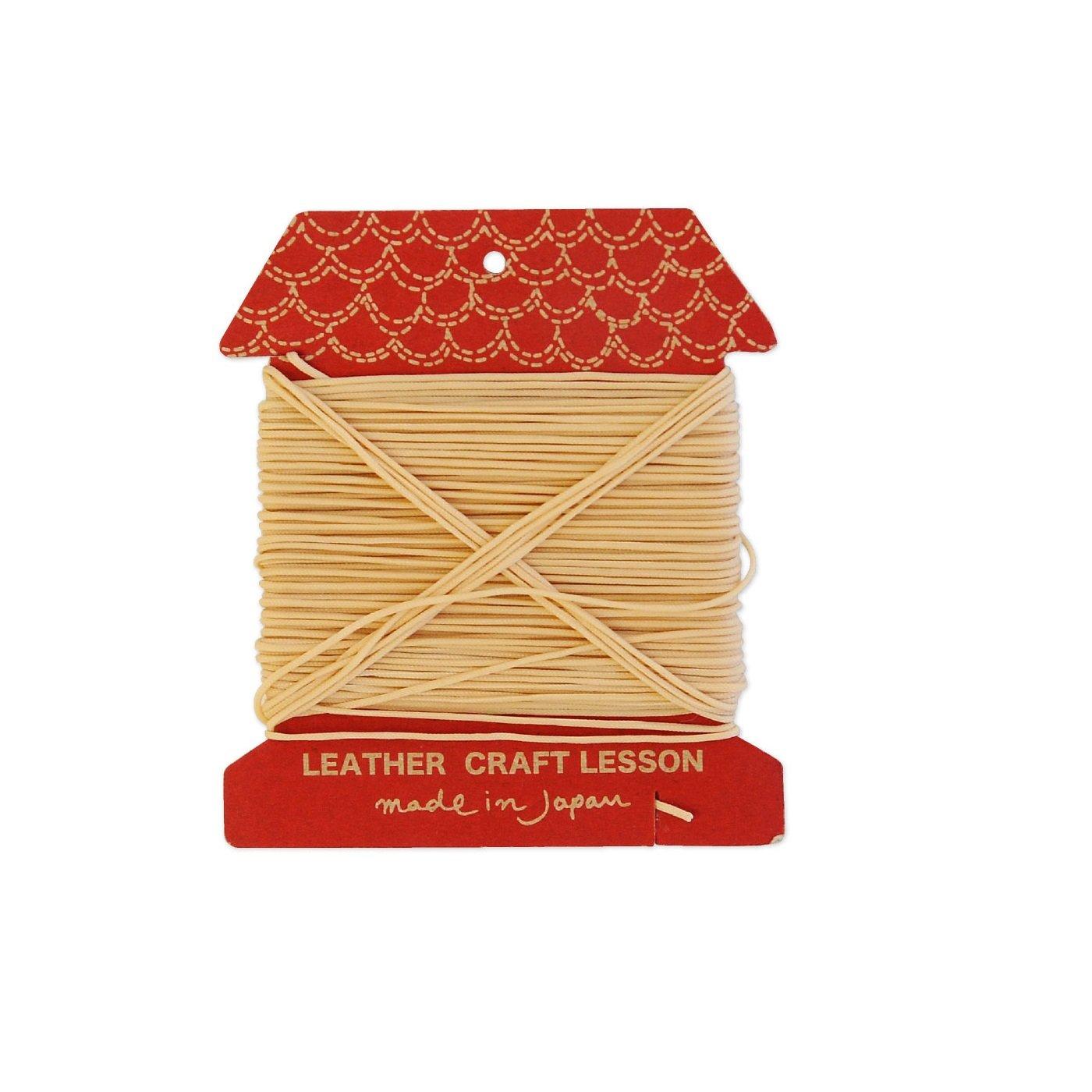オリジナルクラフトを楽しもう! 業務用縫い糸20m(クリーム)