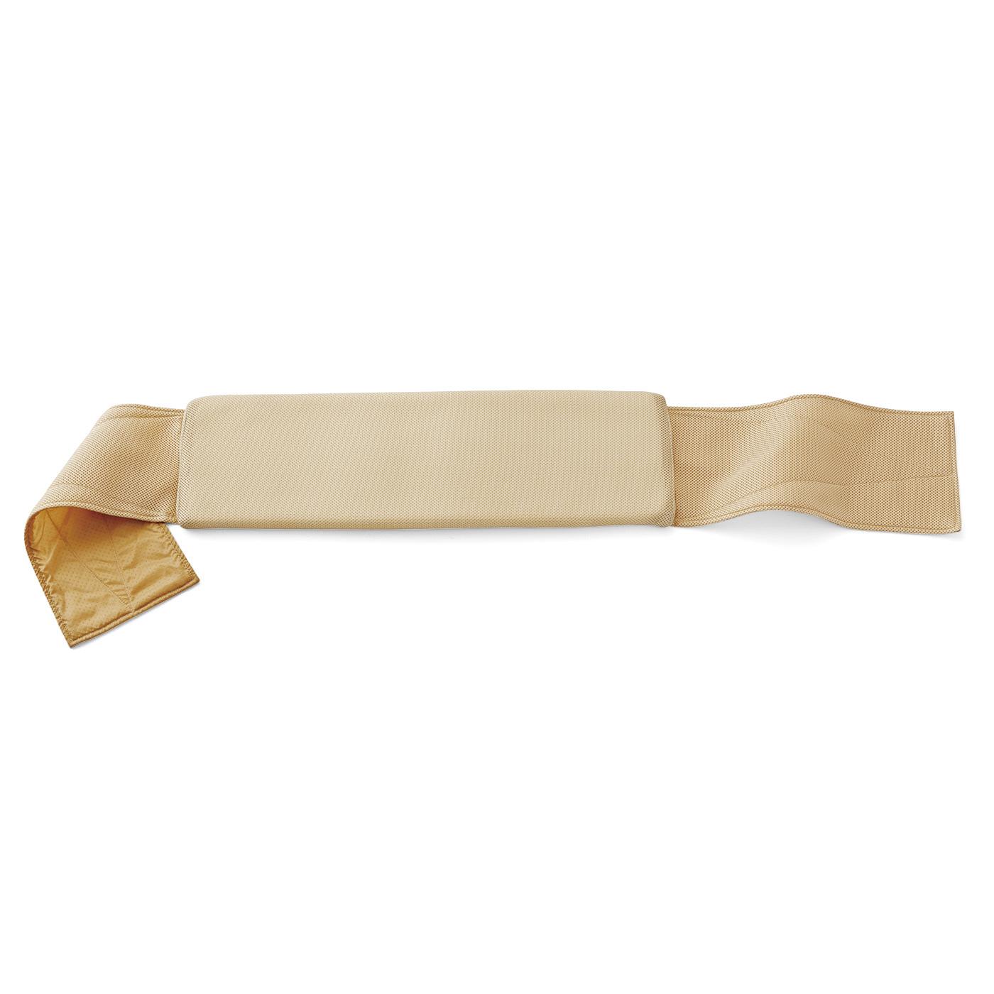 中材はほどよい厚みと反発感があるウレタンフォームを使用。