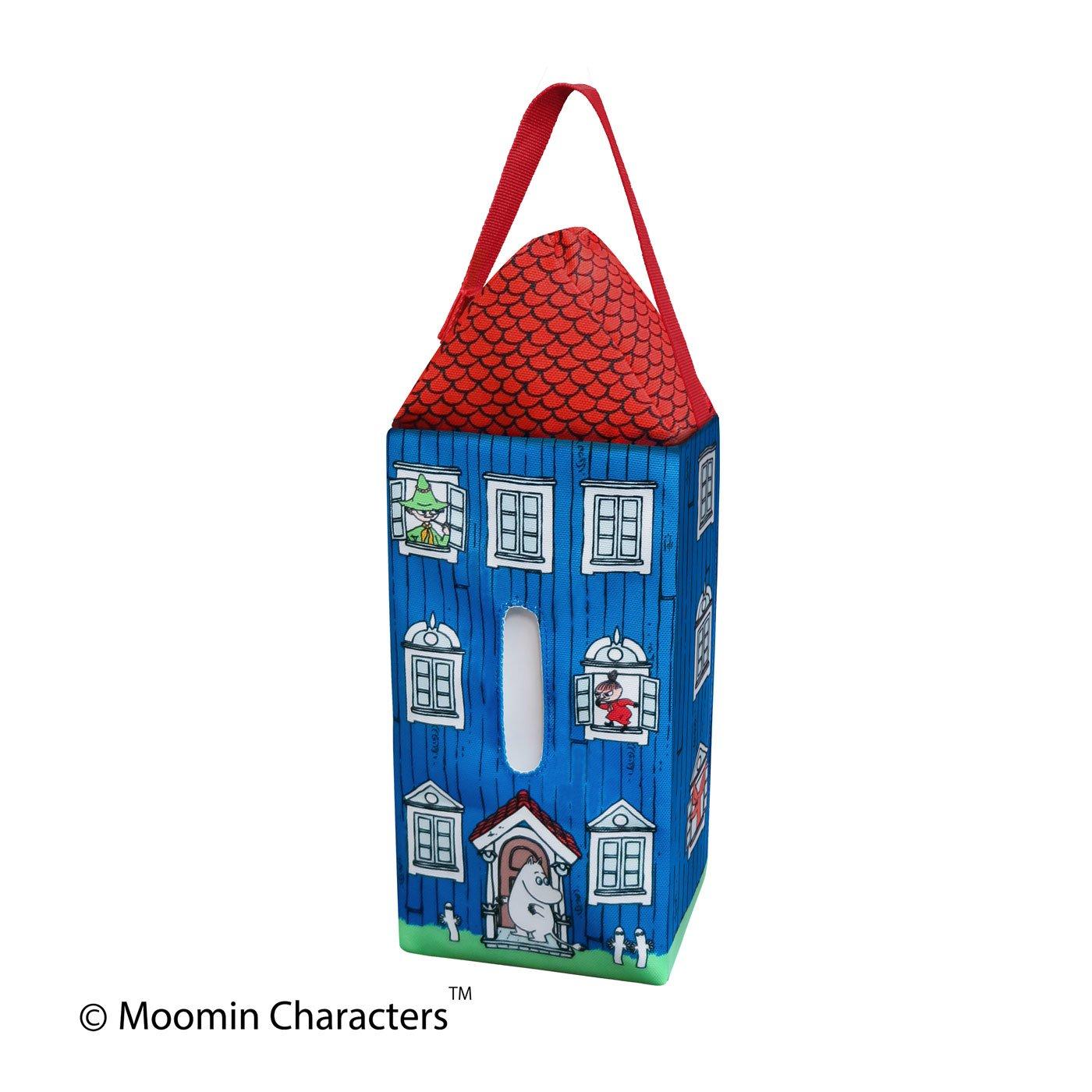 かわいいおうちの形のティッシュケース ムーミンハウス