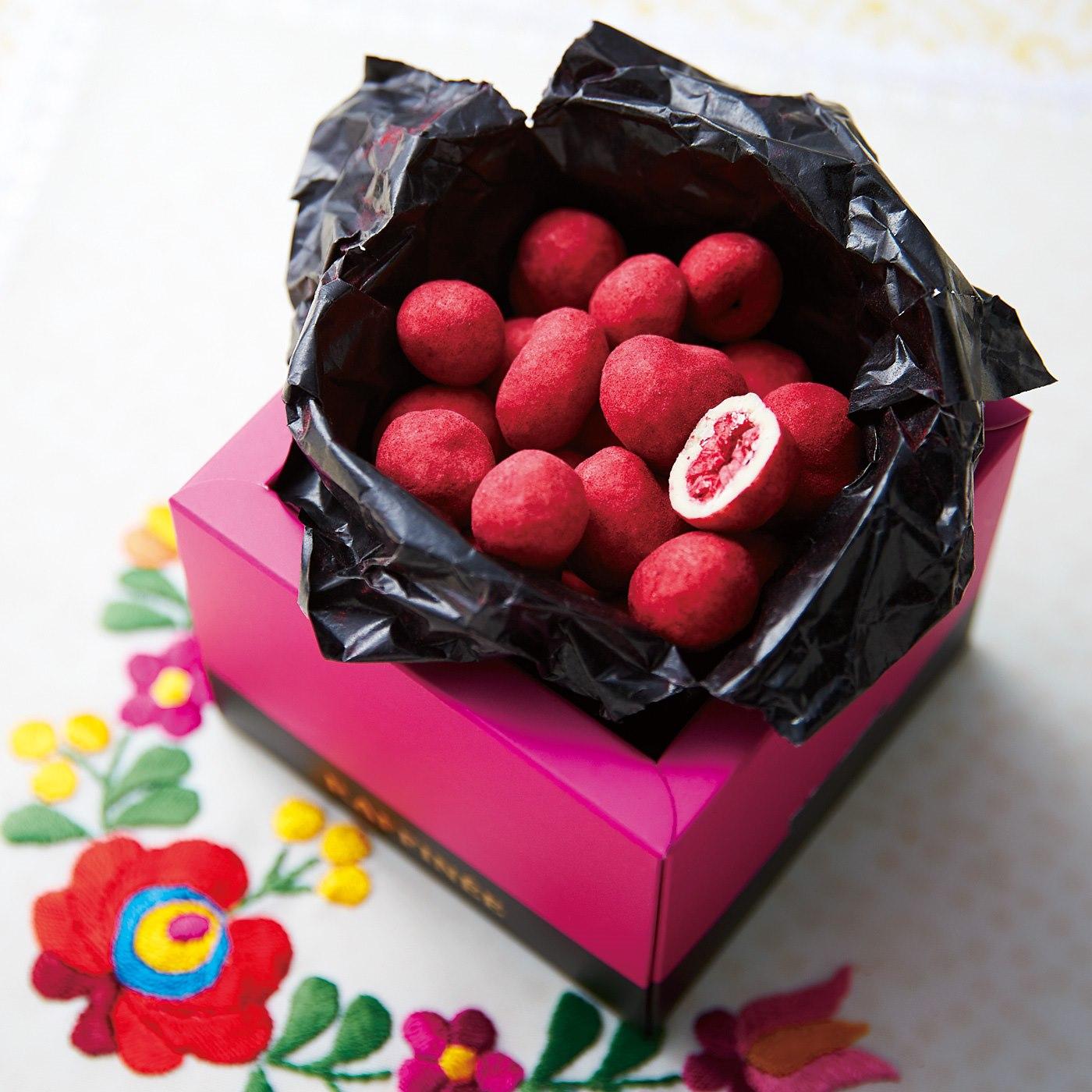 チョコミー ラズベリーホワイト