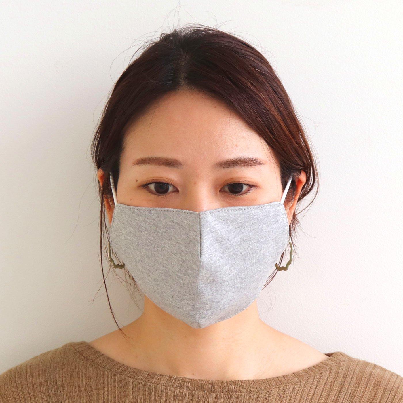 カットソー&4重ガーゼの洗えるmoshimoのマスク