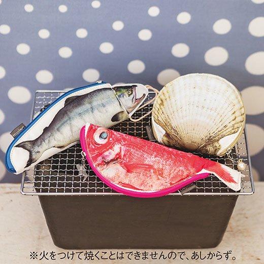 YOU+MORE!妄想工作所さんと作った 魚の開きポーチ