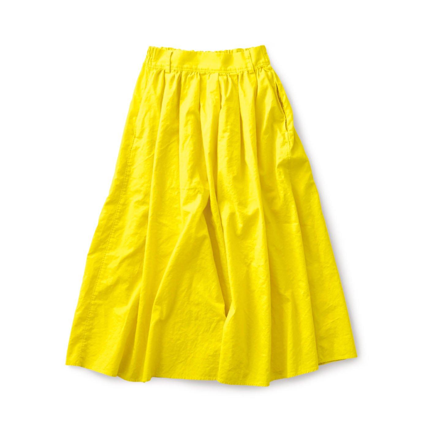 サニークラウズ ミモザ色のスカート