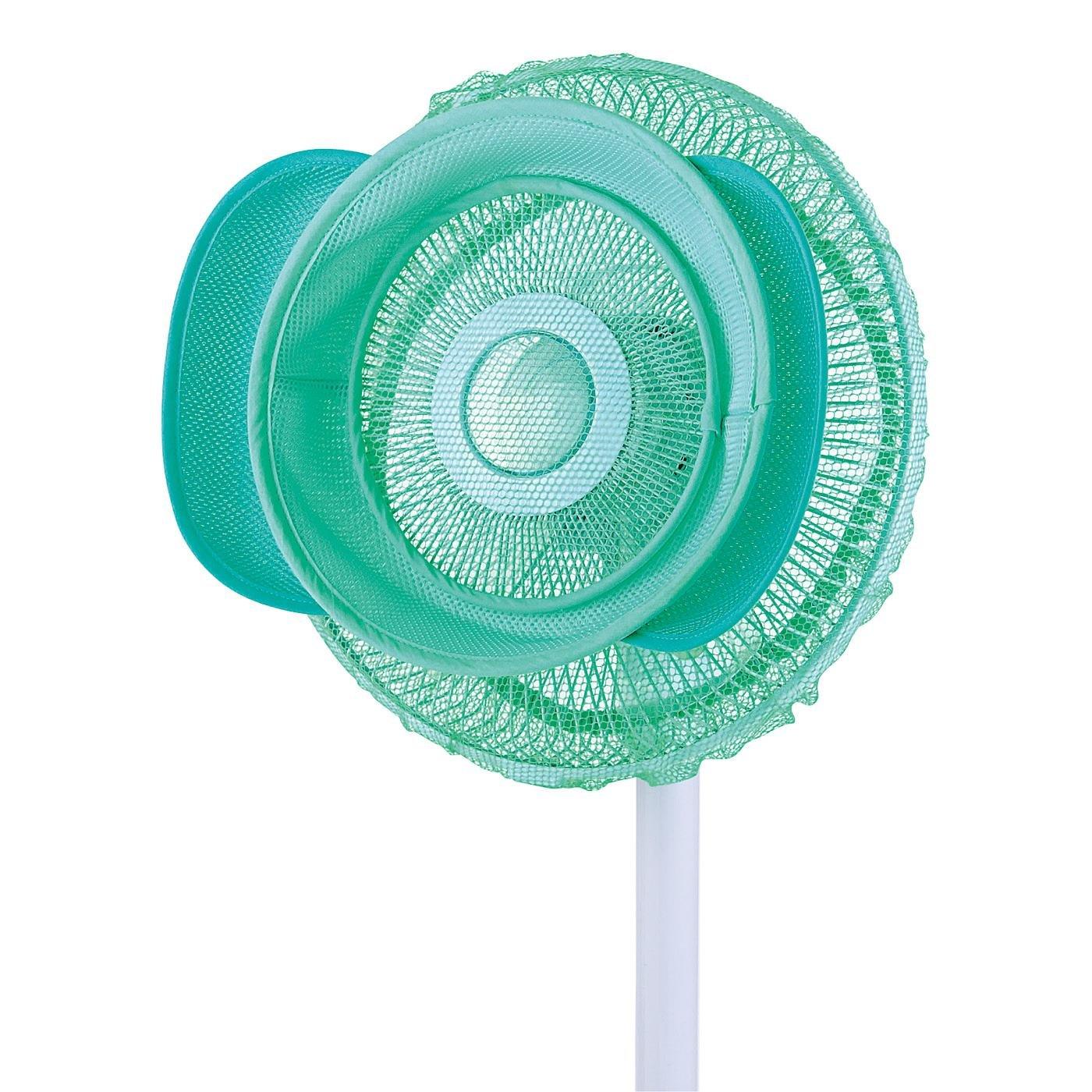 付けるだけ簡単!自然なやさしい風になる扇風機カバー