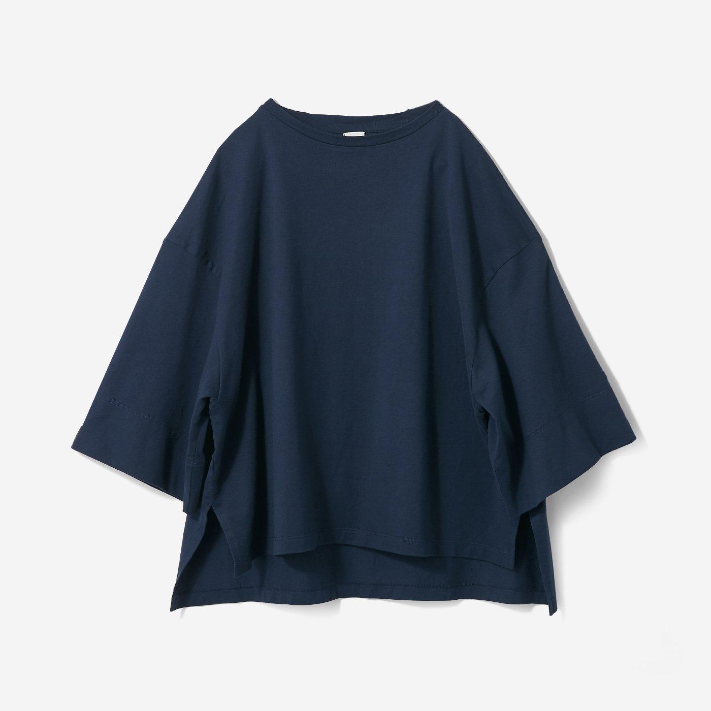 avecmoi ロゴTシャツ〈ネイビー〉